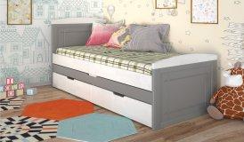 КОМПАКТ - деревяне ліжко
