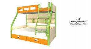 СІТІ - Двоярусне ліжко С-36