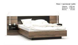 Фієста - Ліжко 160